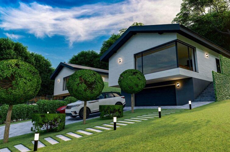 Projekcia rodinných domov