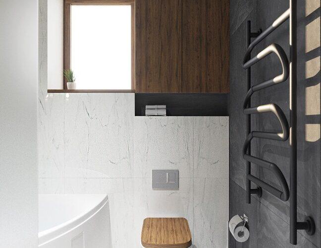 projekt interiéru kúpelňa